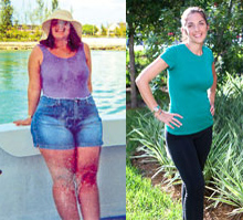burn fat with biking - weight loss success story